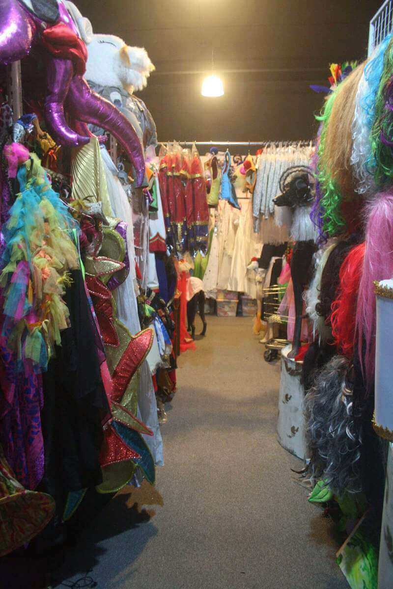 Selling Off Costume Shop And Branding