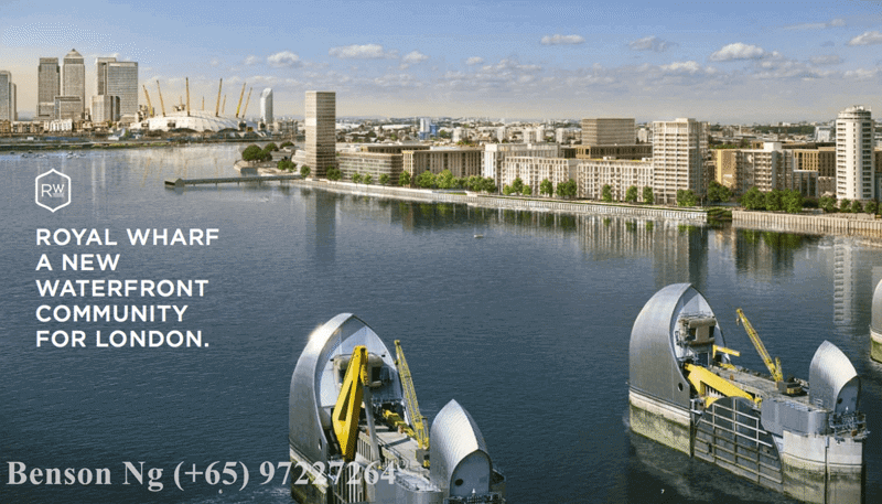 Royal Wharf London Phase 2 For Sale