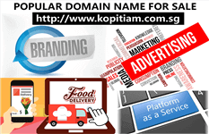 Popular Domain Name For Sale : Kopitiam.Com.Sg